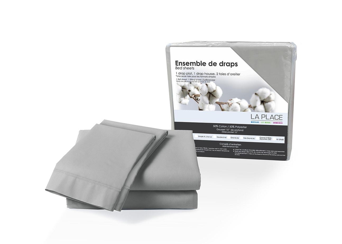 Draps percale Poly-Coton | LA PLACE